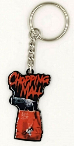 Chopping Mall Keychain Fright Crate Horror Movie Robot Droid Slasher Film Gift