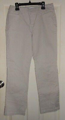 "Women's 'Dockers' Size 4P - Brown Tan Denim Casual Pants 29"" x 28"""