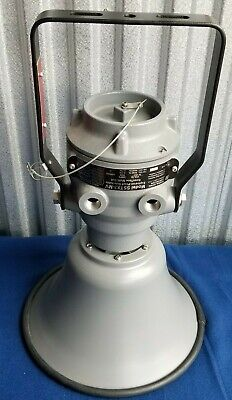 New Federal Signal Explosion Proof Siren - Selecttone Multivolt 12 120 240