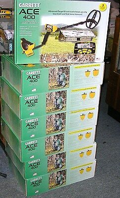GARRETT ACE 400 METAL DETECTOR 55 ANNIVERSARY & AT PINPOINTER,AND  6 FREE ITEMS  Ace Metal Detector