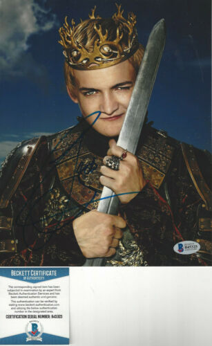 Game of Thrones Jack Gleeson as Joffrey Baratheon Autographed 8x10 photo Becket