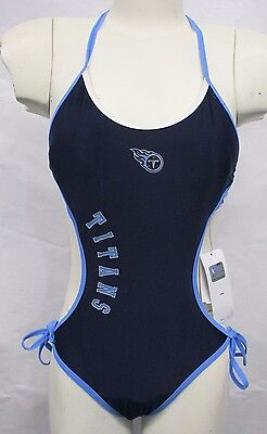 Tennessee Titans Women's One Piece Bathing Suit Swim Wear - Titans Tennessee
