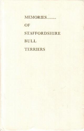 Memories Of Staffordshire Bull Terriers, Ed Reid  1975
