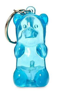 GUMMY BEAR KEYCHAIN lights up BLUE by FCTRY new Stress Toy Collectible](Gummy Bear Keychain)