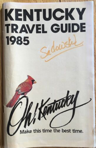 Vintage 1985 State of Kentucky Tourist Travel Guide and Advertisements