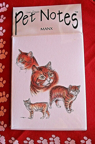 Manx Cat Note Cards