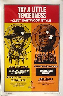 Clint Eastwood Hang Em High The Good Teh Bad Lobby Card Movie Poster 10X15
