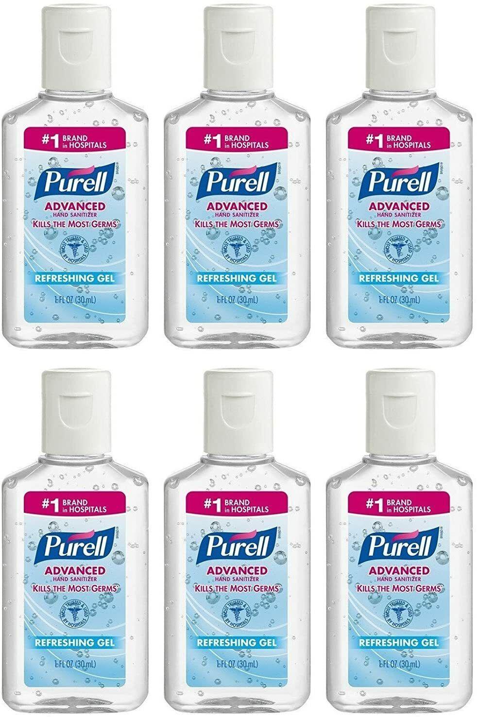 PURELL Advanced Hand Sanitizer, Refreshing Gel, 36 - 1 fl oz