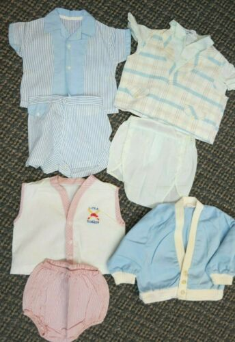 1950`s 1960`s baby Boy Vintage clothing Lot # 1544