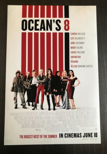 * AWKWAFINA * signed autographed 12x18 photo poster * OCEAN'S 8  * 1