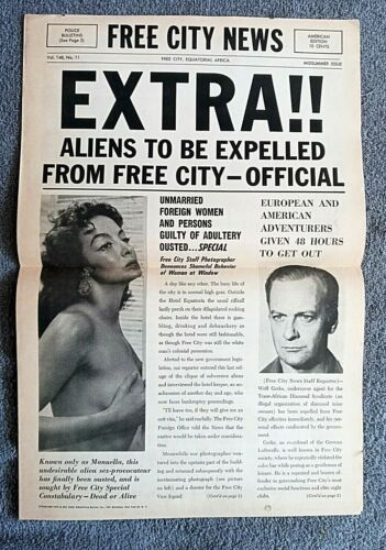 Heroes and Sinners Pressbook Herald YVES MONTAND Maria Felix JEAN SERVAIS 1955