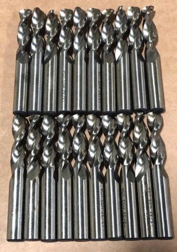 "13/32"" Drill Bit Stubby Bits Screw Machine Length High Speed Steel 20 Pack USA"