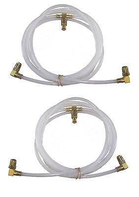 1966-67 Ford Fairlane 500 & Xl Convertible Top Pump To Cylinder Hoses, Line Set