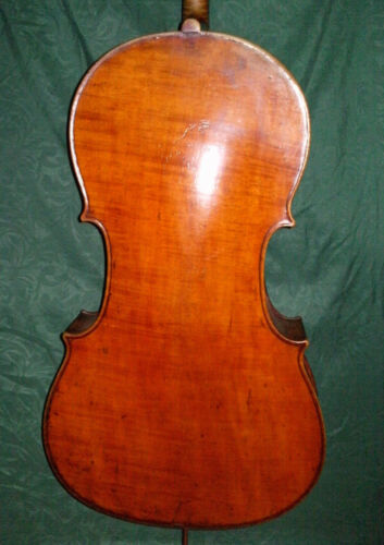 Fine Antique French Cello