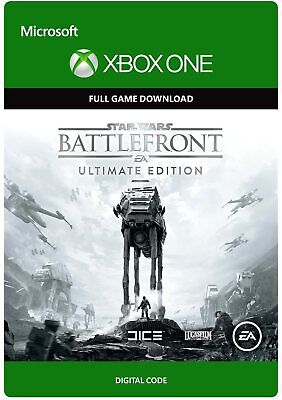 STAR WARS BATTLEFRONT ULTIMATE EDITION XBOX ONE FULL GAME KEY