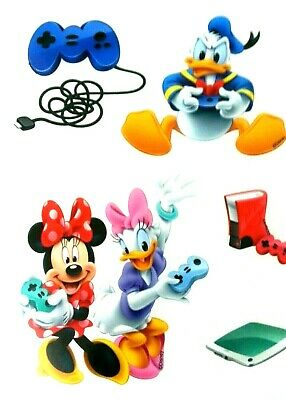 Bugs Bunny Donald Duck Sticker  Boy Girl Party  Fillers Favor Gift Supply