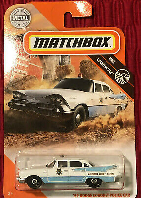 2020 MATCHBOX METAL #94 - MBX COUNTRYSIDE - '59 DODGE CORONET POLICE CAR - NEW