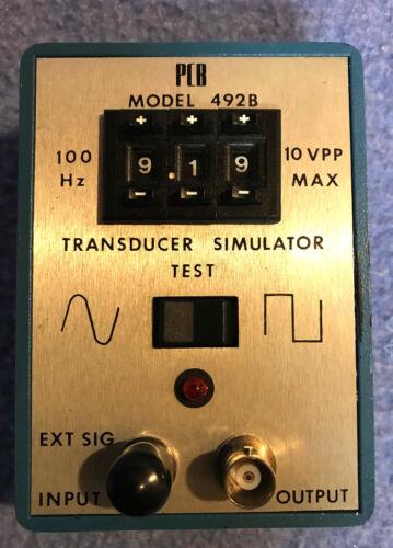 Piezotronics PCB 492B TRANSDUCER SIMULATOR