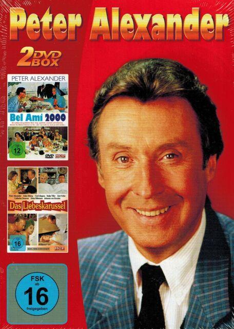 DOPPEL-DVD NEU/OVP - Peter Alexander - Bel Ami 2000 / Das Liebeskarussel