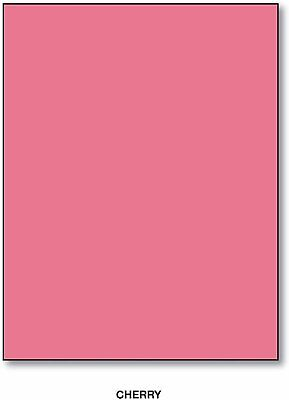 110lb Index Cherry Card Stock - Size 22 12 X 35 - 5 Sheets Per Pack