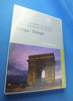 Original Navigations-DVD NAVIGATION DISC 2009/2010 EUROPE A2218276759 CL S Class