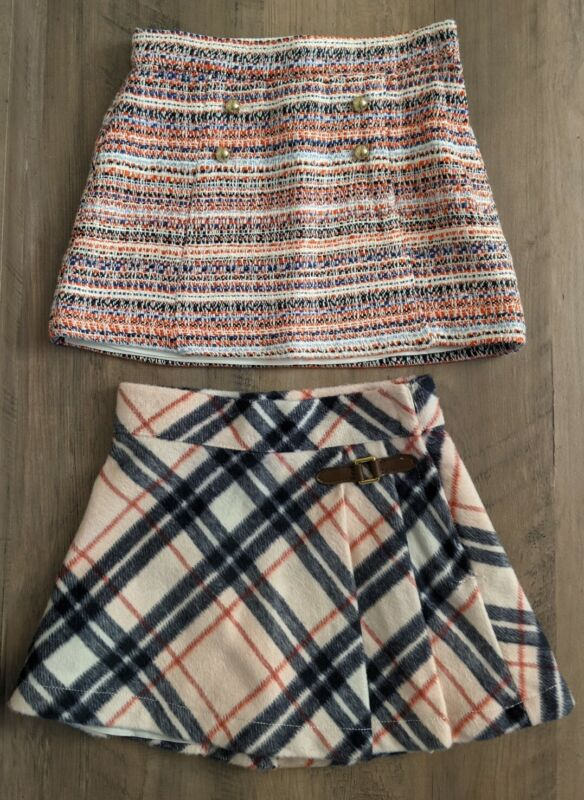 Janie And Jack Skirts Lot Size 2t Toddler Girls Adjustable Waist