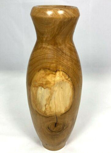 Vintage Hinge Thunder Manuka Hand Turned Wood Vase with Knot