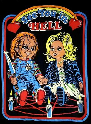 Loot Fright Exclusive Bride of Chucky Throw Blanket New Loot Crate Horror