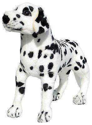PLÜSCHTIER HUND PLÜSCH DALMATINER - stehend - 50 cm - NEU - Plüschhund Stoffhund