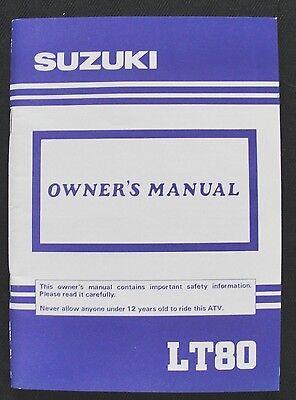 Suzuki in romn este simplu s cumprai ebay pe zipy original 1991 suzuki lt80 lt 80 atv operators owners manual very nice fandeluxe Choice Image