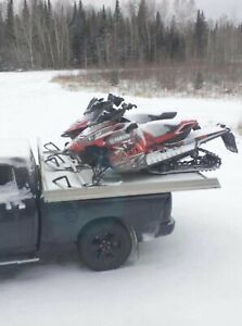 Sled deck / plate forme