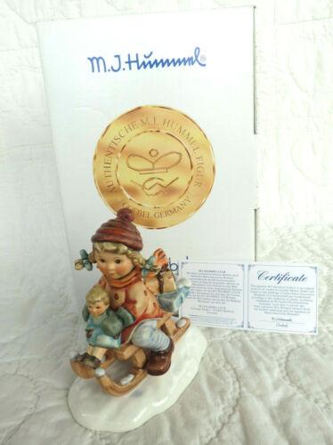 "Goebel Hummel ""Christmas Delivery"" 2014/1 First Issue, TMK7 Original Box COA"