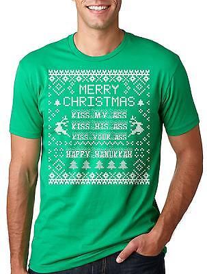- Christmas Funny hanukkah Tee Shirt Gift for Christmas hanukkah Christmas