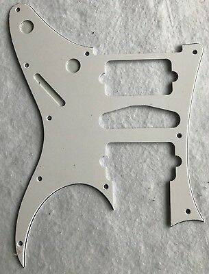 Custom Guitar Pickguard For Ibanez RG 770 DX Style Guitar Pickguard,3 Ply White for sale  China