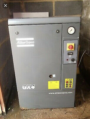 Gx4 Atlas Copco 5 Hp Rotary Screw Air Compressor