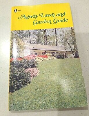 1970 Agway Lawn and Garden Guide for mowers tillers fertilizer care vintage book