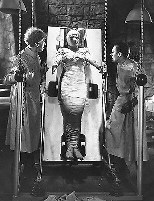 THE BRIDE OF FRANKENSTEIN BLACK AND WHITE 8x10 classic PHOTO 3A!!!