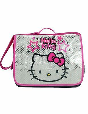 Hello Kitty Large Messenger Bag Back to School Piano/Music Bag US SELLER (Kitty School Bag)