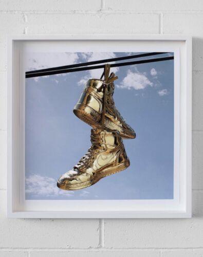 Andy Blank Framed Gold Jordan s - $350.00