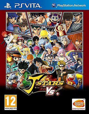 J-Stars Victory VS+ [Sony PlayStation Vita PSV, Region Free, Arcade Fighting]