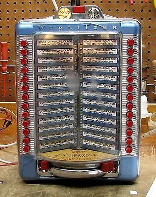 Used, WURLITZER JUKEBOX WALLBOX 5204A RESTORED -   STOCK #5532 for sale  Shipping to South Africa