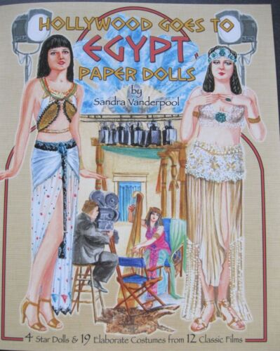 HOLLYWOOD GOES TO EGYPT Paper Dolls w/ Classic Film Costumes--SPECIAL PRICE!
