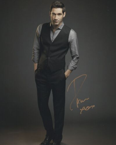 Tom Ellis Lucifer Autographed Signed 8x10 Photo COA 2020-3