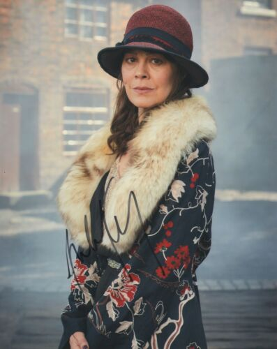 Helen McCrory Peaky Blinders Autographed Signed 8x10 Photo COA 2019-4