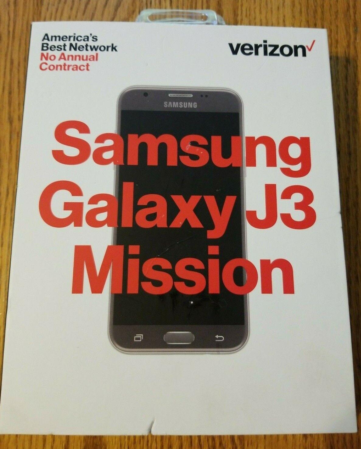 "Samsung SM-J327 Galaxy J3 Mission 5"" Prepaid Carrier Locked"