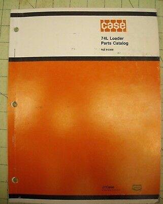 74l Case Front End Loader Parts Manual Rac 8-2300 Front Loader For Tractor