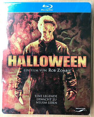 Halloween 2007 Blu-ray Steelbook Rob Zombie Horror Slasher Movie Remake