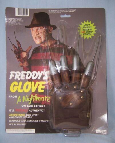 1984 Nightmare Elm Street Freddy Krueger GLOVE sealed package 1993 Collegeville