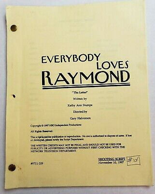 EVERYBODY LOVES RAYMOND / 1997 TV Show Script, RAY ROMANO & PATRICIA HEATON