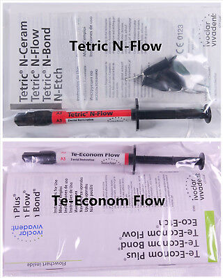 Te-economtetric N-flow A1 A2a3 Ivoclar Vivadent Dental Composite Flowable Resin